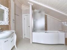 Загородный дом «Настроение Прованса», ванная . Фото № 31226, автор Нелюбина Наталья