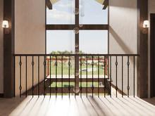 Загородный дом «Загородный дом в фахверковом стиле», холл . Фото № 31292, автор Корпан Ксения