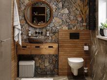 Загородный дом «Загородный дом в п. Удальцово», ванная . Фото № 31308, автор Корпан Ксения