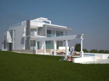 Загородный дом «Дом в Испании», фасад . Фото № 31316, автор Безирганов Михаил