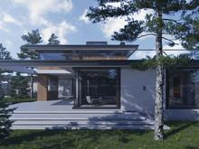 Загородный дом «Дом Way-Project», фасад . Фото № 31388, автор Айибов Вадим