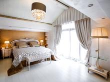 Загородный дом «Дом в Пестово», спальня . Фото № 31493, автор LusiSarkis Дизайн-студия