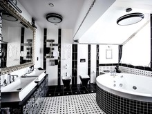 Загородный дом «Дом в Пестово», ванная . Фото № 31491, автор LusiSarkis Дизайн-студия
