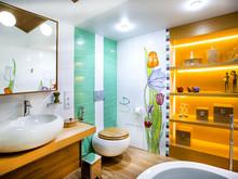 Загородный дом «Дом в Пестово», ванная . Фото № 31496, автор LusiSarkis Дизайн-студия