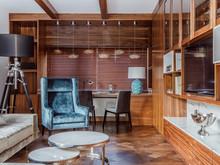 Загородный дом «Частный жилой дом», кабинет . Фото № 31615, автор Chado Архитектурная студия