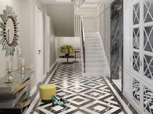 Загородный дом «Особняк в стиле американская классика.», холл . Фото № 31774, автор Дизайн-бюро  «Лепина и Орлова»