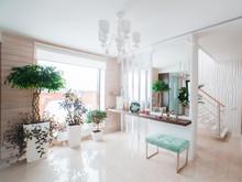 Загородный дом «Экодом Танковое кольцо», холл . Фото № 31907, автор Евсеева Алена