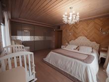 Загородный дом «Экодом Танковое кольцо», спальня . Фото № 31912, автор Евсеева Алена