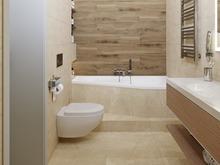 Загородный дом «Простые формы», ванная . Фото № 31921, автор Дикий Николай