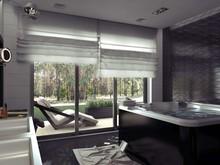 Загородный дом «Коттедж в Буче», ванная . Фото № 32047, автор ViO-design Мастерская дизайна