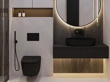Загородный дом «S073», ванная . Фото № 32080, автор Yousupova