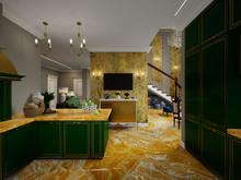 Загородный дом «Дом Шинуазри», кухня . Фото № 32220, автор Чехова-Корюкина Инна