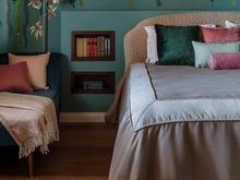 Загородный дом «Воздушная Ариетта», спальня . Фото № 32301, автор Ухова Яна