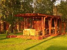 Загородный дом «», барбекю  . Фото № 3880, автор Белоусов Николай