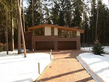 Загородный дом «», гараж . Фото № 4371, автор B|S