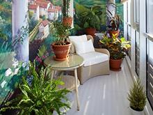 Загородный дом «», веранда лоджия . Фото № 5157, автор Мачнева Екатерина