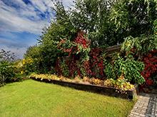 Загородный дом «», ограда забор . Фото № 5280, автор Плохих Сергей