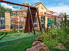 Загородный дом «», детская площадка . Фото № 5948, автор Арт-Дом