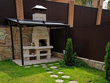 Загородный дом «», барбекю  . Фото № 5922, автор Арт-Дом
