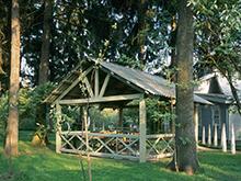 Загородный дом «», беседка . Фото № 6844, автор Вануни Артур (МАО)