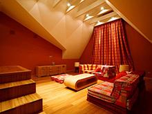 Загородный дом «», комната отдыха . Фото № 6418, автор Studioplan