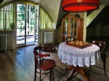Загородный дом «», комната отдыха . Фото № 6518