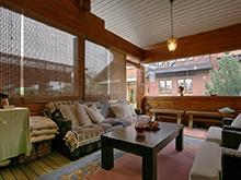 Загородный дом «», веранда лоджия . Фото № 6539