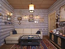 Загородный дом «», комната отдыха . Фото № 6656, автор Камалетдинова Лариса