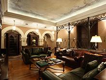 Загородный дом «», комната отдыха . Фото № 5069, автор Пятый радиус Архитектурное бюро