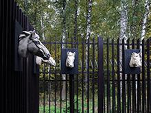 Загородный дом «», ограда забор . Фото № 17859, автор Маркидонова Ирина, Меньшакова Илона