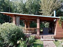 Загородный дом «», барбекю  . Фото № 18584, автор KV-BURO