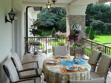 Загородный дом «», терраса  . Фото № 22376, автор Фомичева Анна