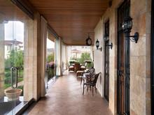 Загородный дом «», терраса  . Фото № 22514, автор Mill-Studio Studio