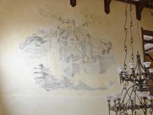 Роспись, живопись «Замок», роспись живопись . Фото № 23647