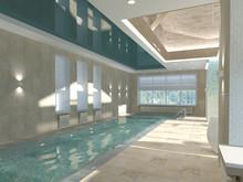 Загородный дом «Дом у воды», бассейн . Фото № 24268, автор Master project Архитектурное бюро