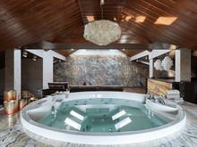 Загородный дом «дом 1000 кв м », бассейн . Фото № 25040, автор Mill-Studio Studio