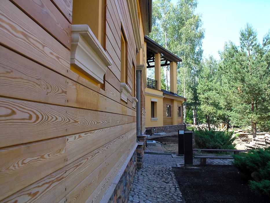 Загородный дом «», фасад, фото из проекта