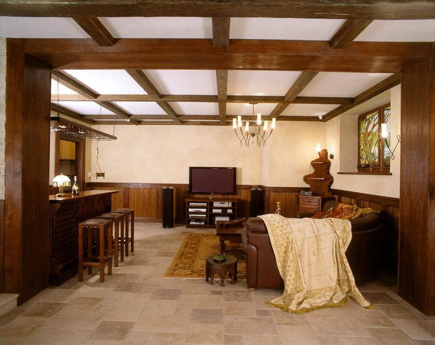 Фото бильярдная Загородный дом