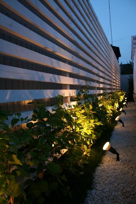 Загородный дом «», ограда забор, фото из проекта
