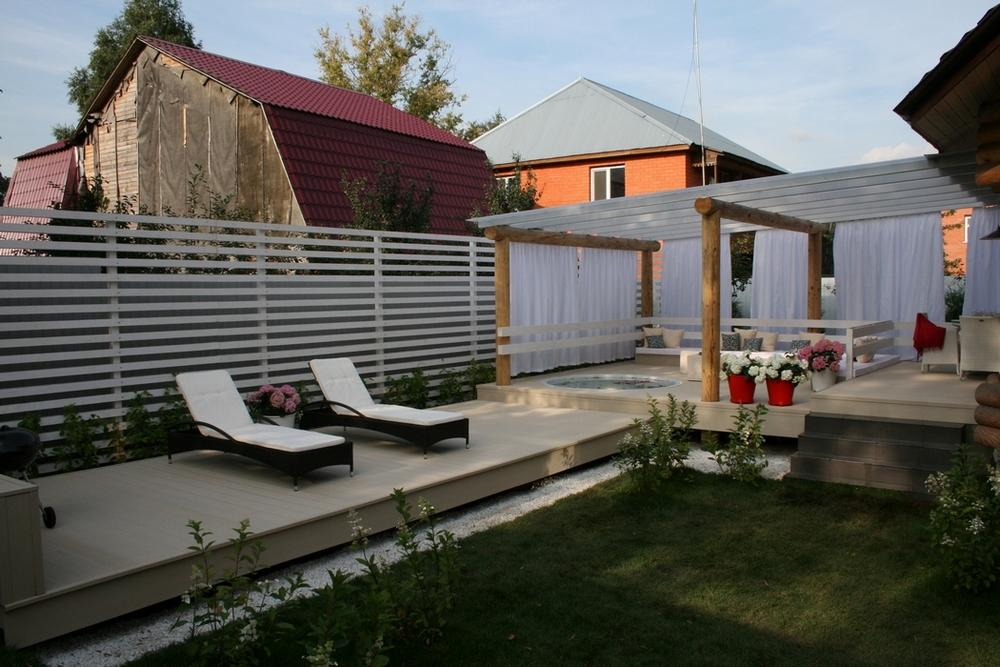 Загородный дом «», терраса , фото из проекта