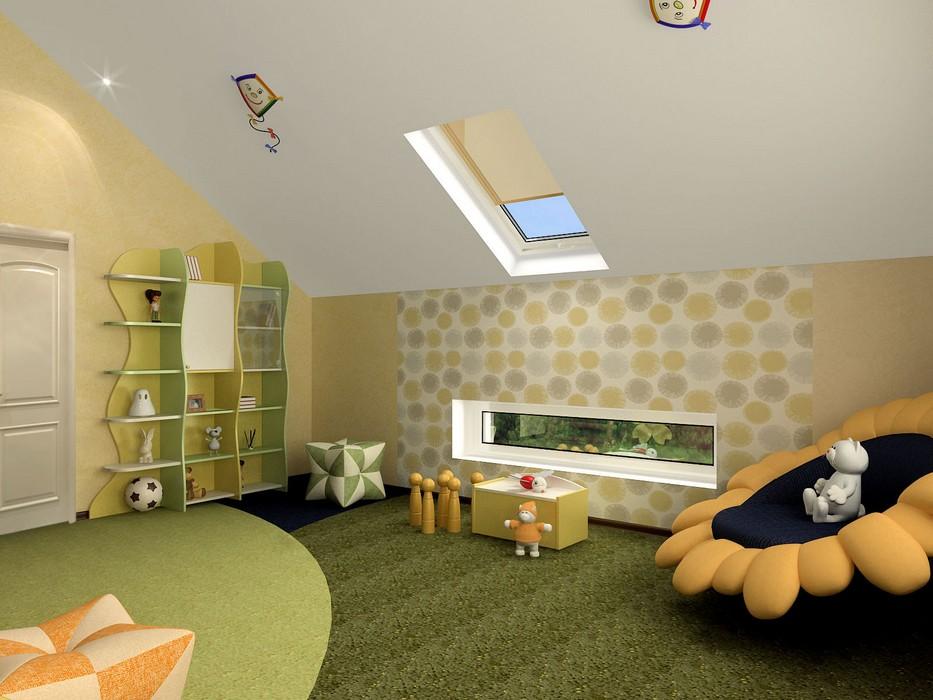 Загородный дом «», детская, фото из проекта