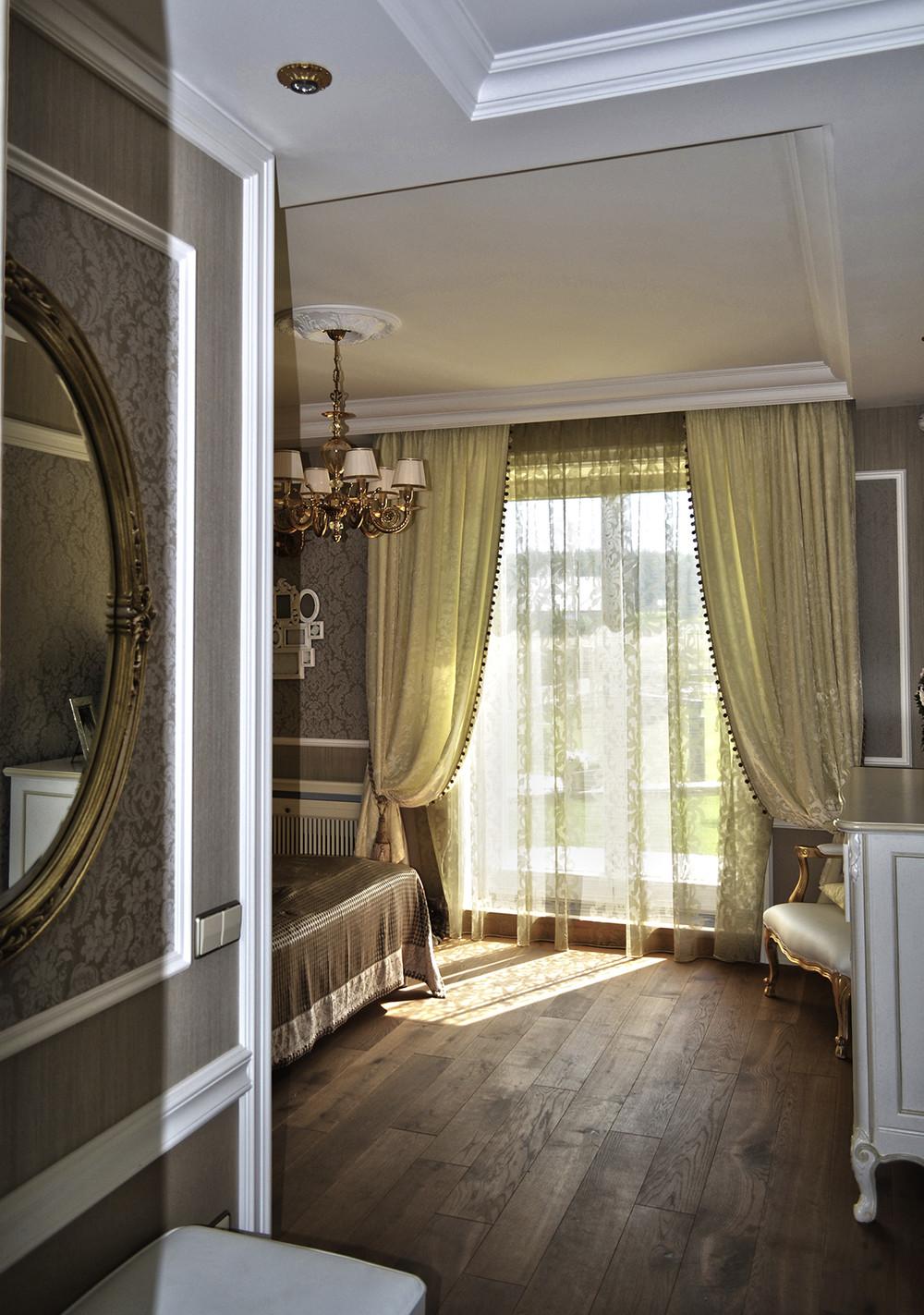 Загородный дом «Коттедж у леса», спальня, фото из проекта