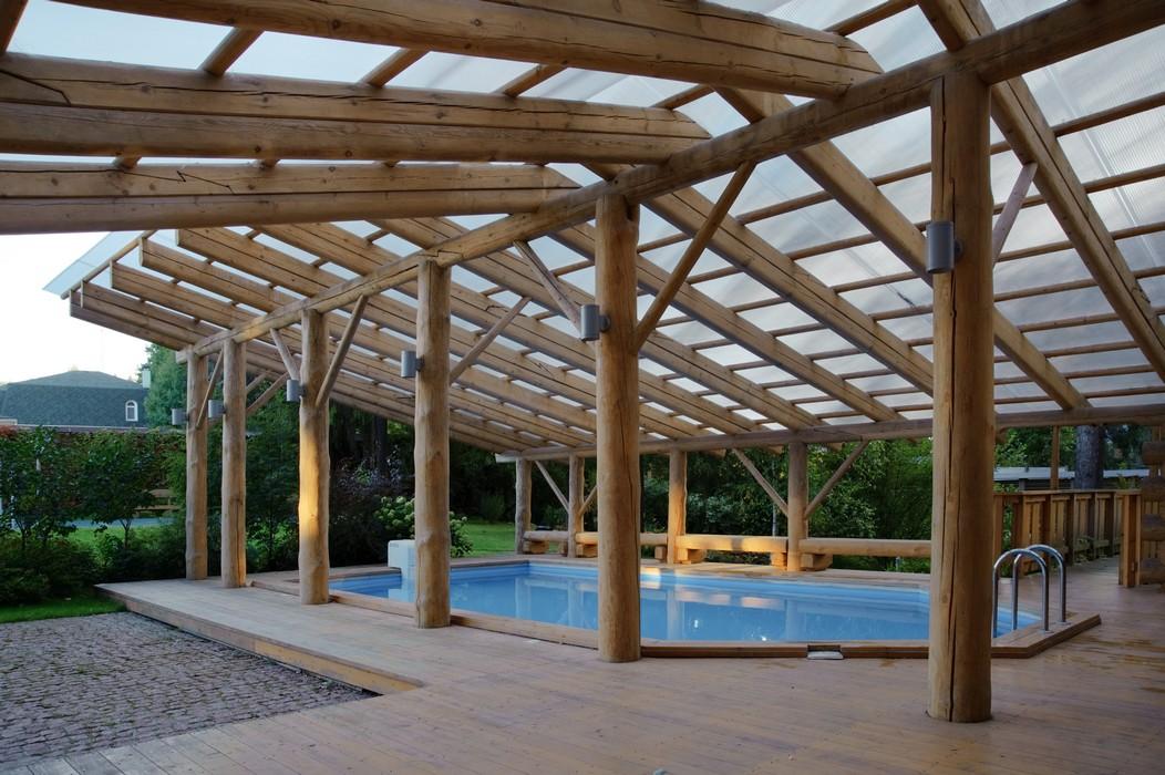 Загородный дом «», бассейн , фото из проекта
