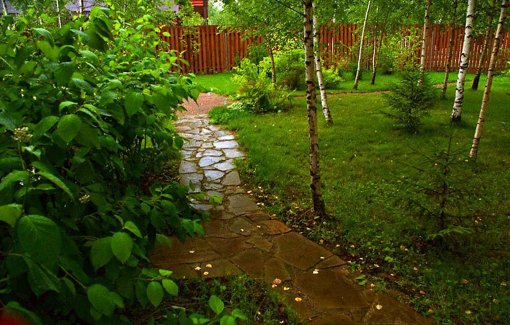 Фото дорожка Загородный дом