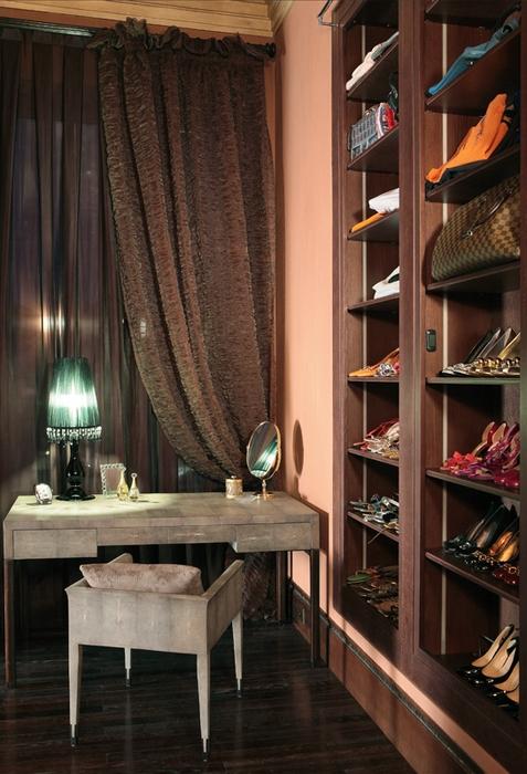 Загородный дом «», гардеробная, фото из проекта