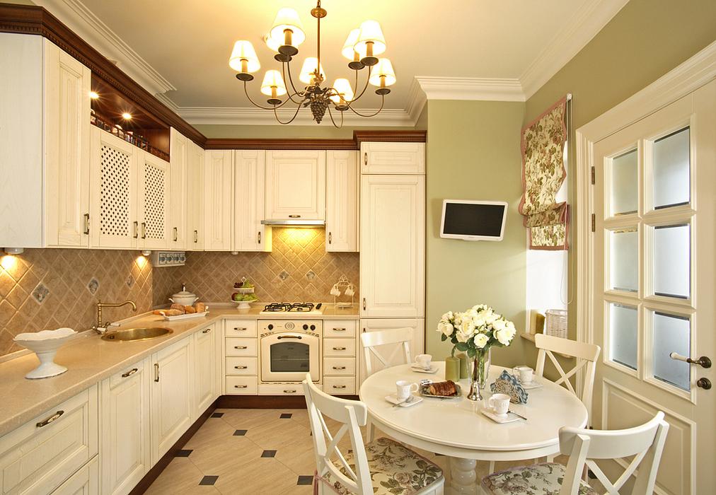 Фото кухня Загородный дом