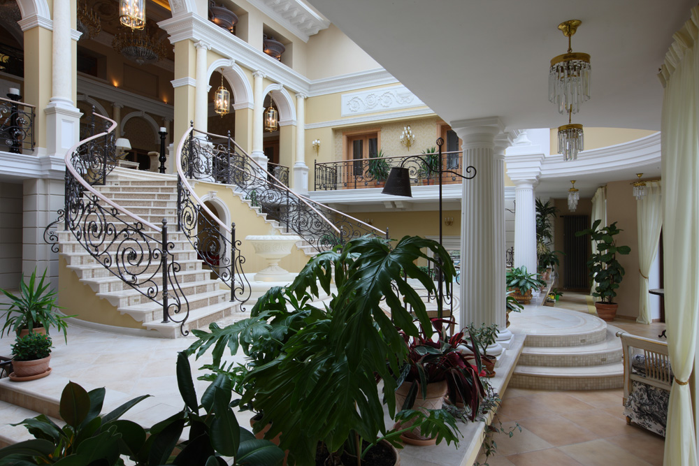 Загородный дом «», холл, фото из проекта