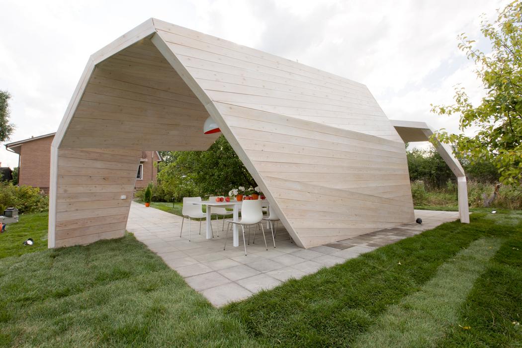 Загородный дом «», беседка, фото из проекта
