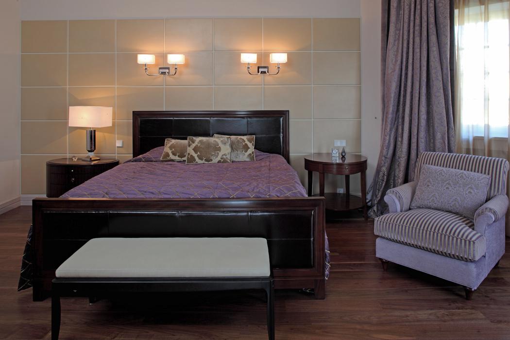 Загородный дом «», спальня, фото из проекта