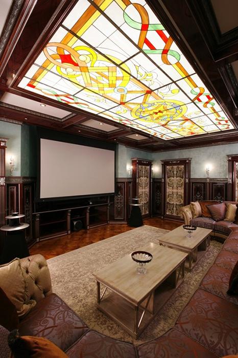 Фото домашний кинотеатр Загородный дом